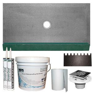 KBRS Shower Base Kit