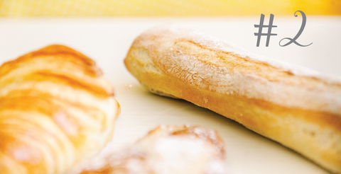 Baguette and bread from Yann Haute Patisserie are a people's favorite, sometimes they even say it's the best!