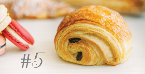 Pain au chocolat is the best treat for breakfast!