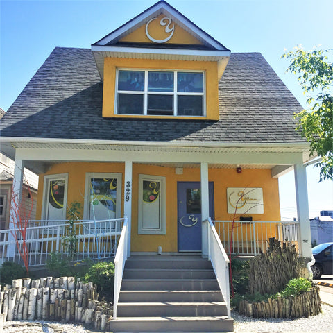 Yann Huate patisserie, the yellow house offering a little Paris in Calgary