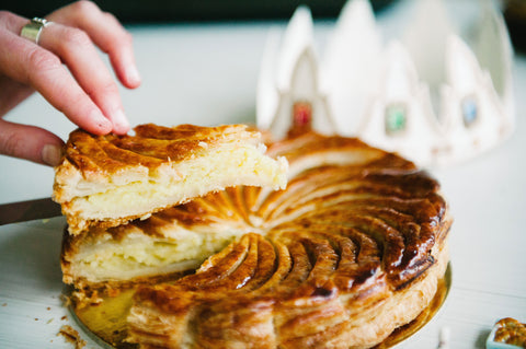 Galettes des rois for the best puff pastry and almond cream ever! Only at Yann Haute Patisserie!