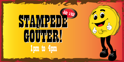 Stampede Gouter 2021 instead of a Stampede breakfast to celebrate together on July 14th, 1pm to 4pm at Yann Haute Patisserie French bakery in Calgary