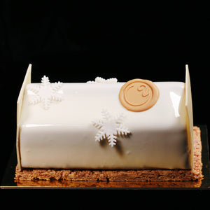 High quality Caramel cake designed by pastry chef Yann Blanchard from Yann Haute Patisserie