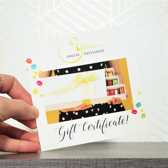 IN SHOP Gift Certificate!