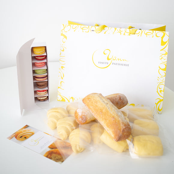 A wonderful gift of baked and frozen goods for anyone or occasion. Delivered in Calgary from our yellow house bakery in Mission!