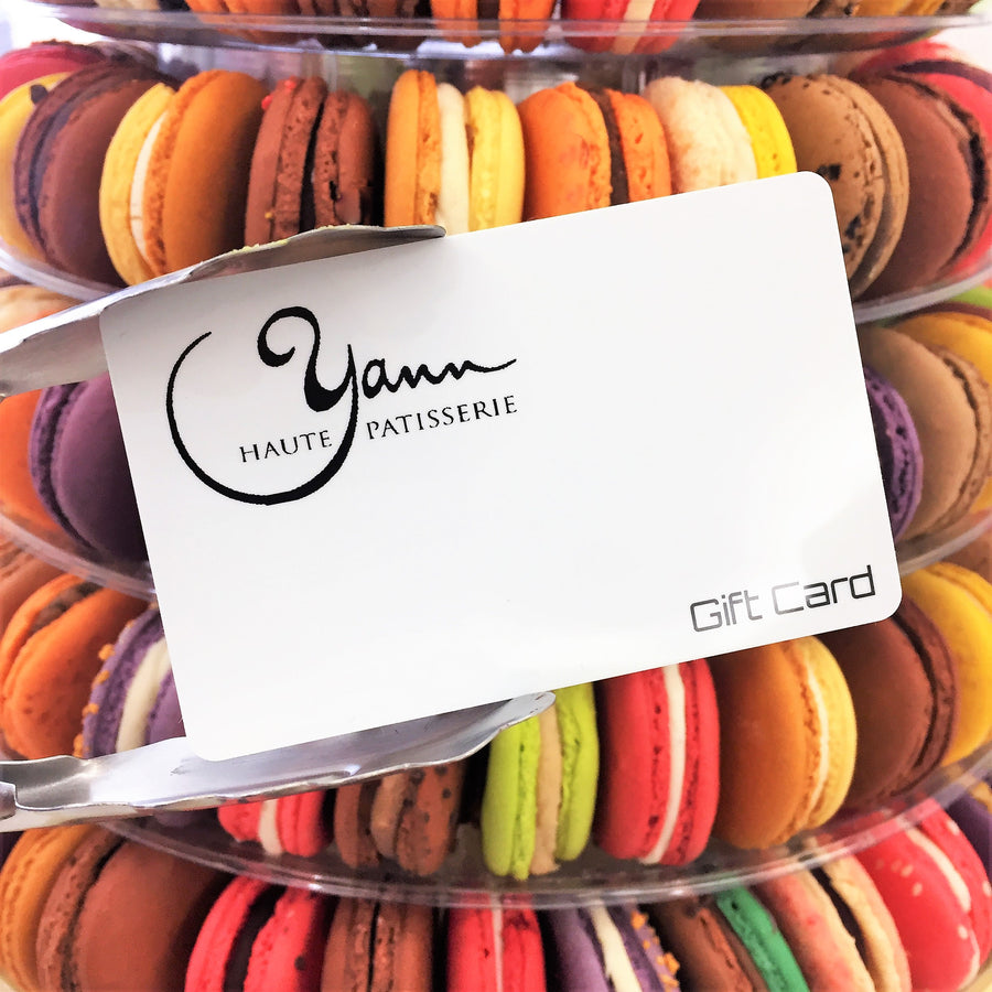 A gift card is offering the choice of so many delicious flavours!