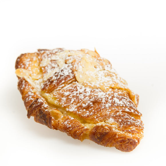 The best almond croissant in Calgary at Yann Haute Patisserie!