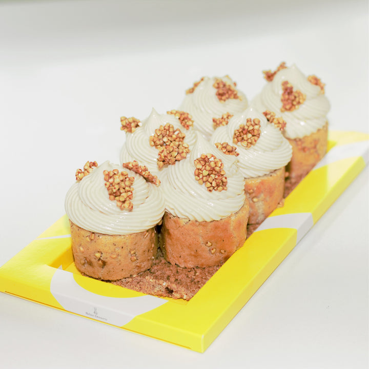 Calgary cakes for Fall with pumpkin at Yann Haute Patisserie