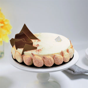 The best Tiramisu cake in Calgary! Made by Yann  Blanchard for Yann Haute Patisserie
