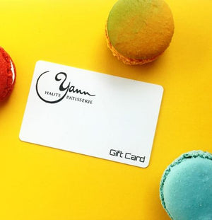 Yann Haute Patisserie gift cards are the perfect foodie gifts!
