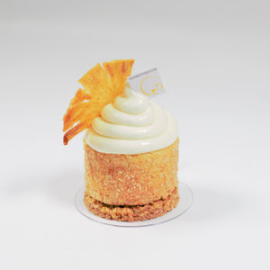 Pineapple and coconut for an exotic kind of Fall! Yann Haute Patisserie, Calgary