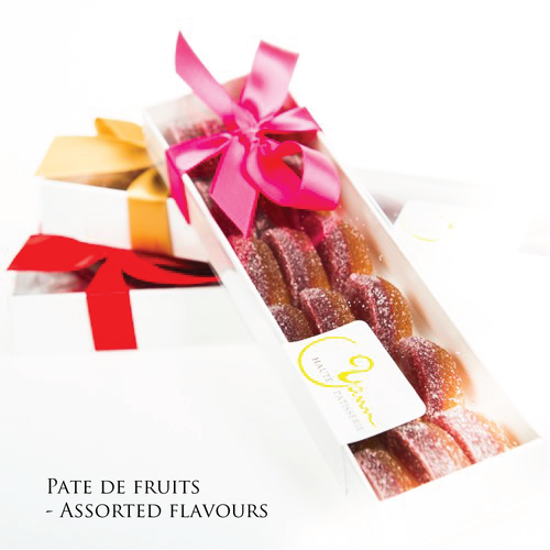 Pates de fruits from Yann Haute Patisserie, From Chef Yann Blanchard, Calgary, Alberta