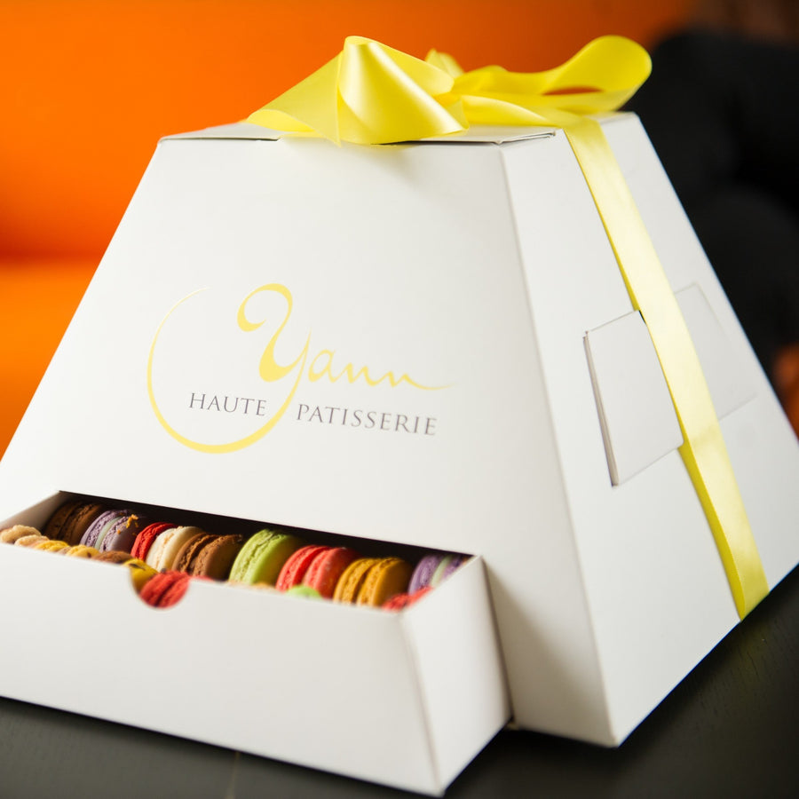 Macarons galore in our amazing pyramid box! Macarons since 2010