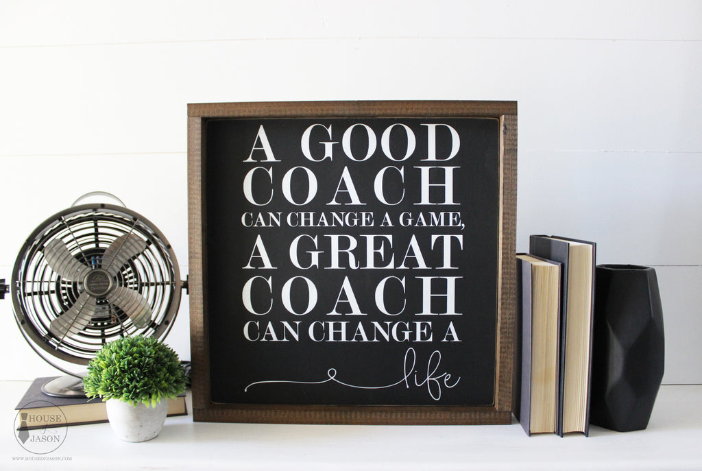 What to buy for your child's coach, best thank you gift for your childs coach, coaches gift, thoughtful coaches gifts, coaches gift ideas, decorative signs, wholesale signs, office decor, gift for him, gifts for husband, gifts for boyfriend, gift for coach, coaches gift, house of jason, home decor signs, handcrafted signs,