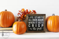 Pumpkin, Fall Decor, Fall signs, Fall Quotes, House of Jason