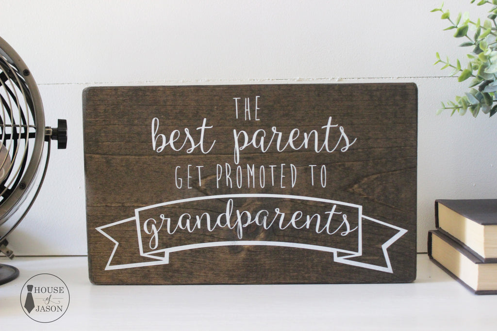 Pregnancy announcement, Grandparents sign, wooden sign, House of Jason, Wood work, Wood signs, Pregnancy, Mom to be, Expecting, What to expect when you're expecting, Gift for parents, Grandparents Gift Idea, Wood