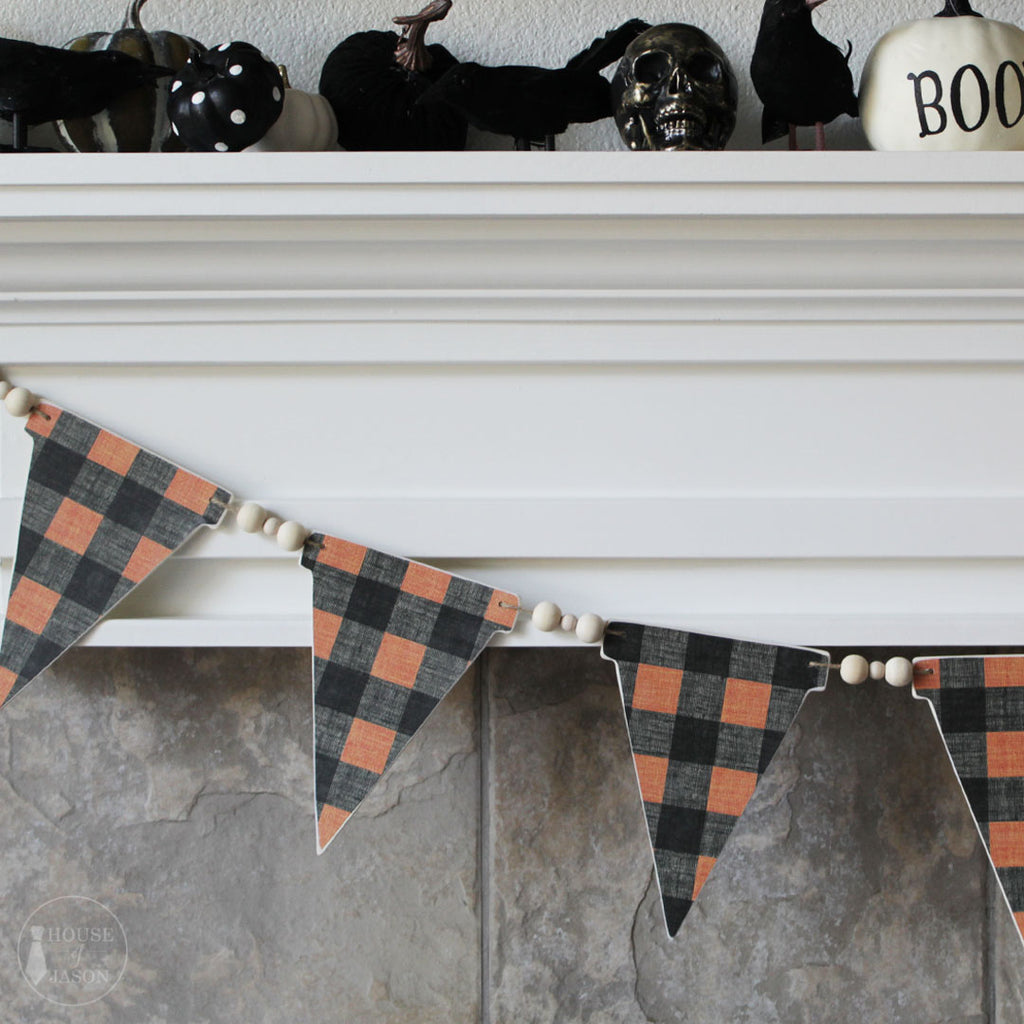 Fall-O-Ween Wooden Banner