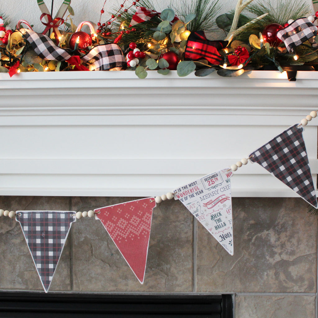 Christmas Sweater Wood Banner