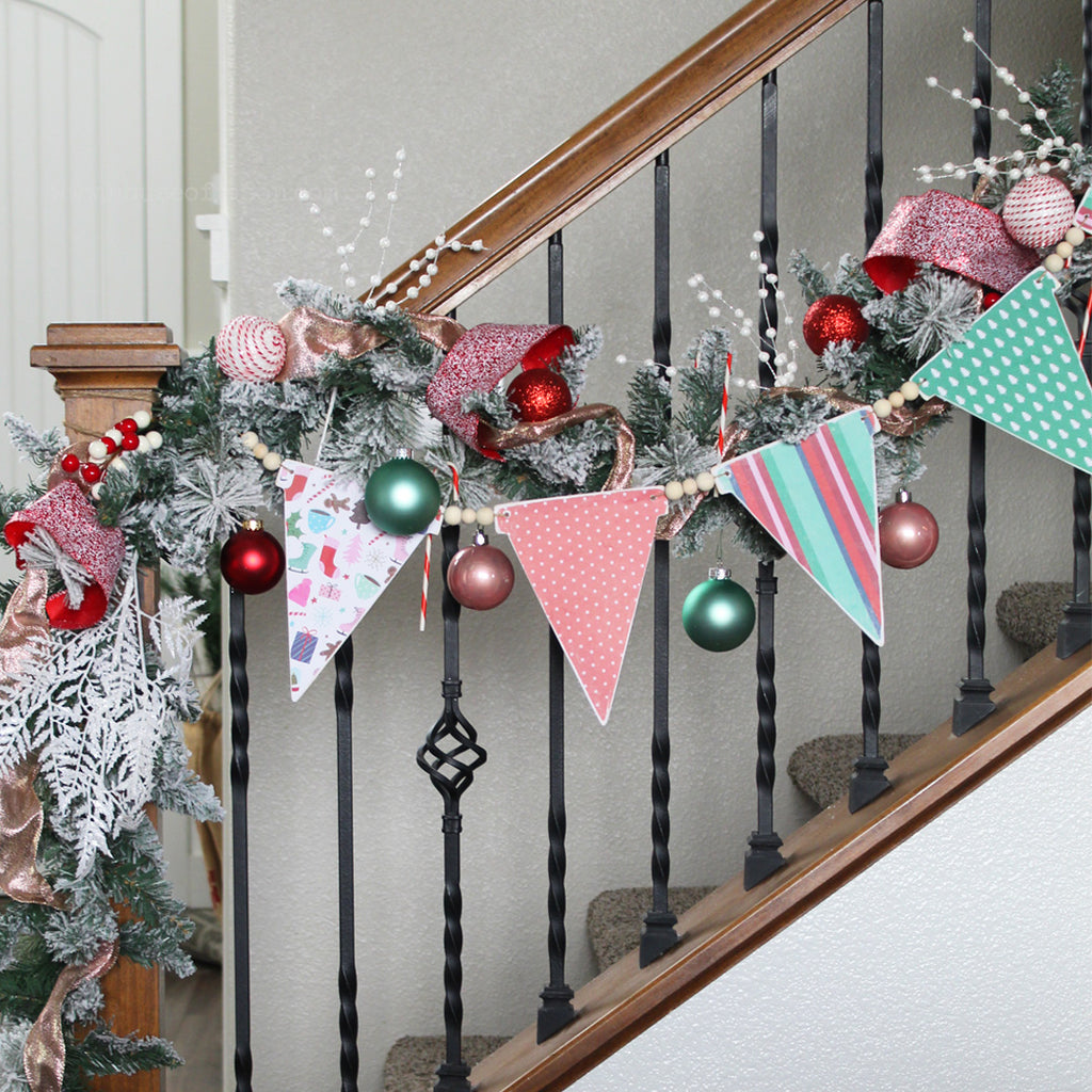 READY TO SHIP | Whimsical Winter Wood Banner