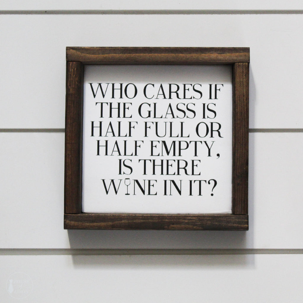 Funny Wine Wooden Sign