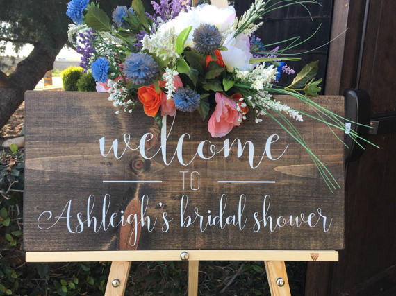 Boho Bridal Shower, Boho Decor, Boho Bridal Shower Signs, Welcome Bridal Shower sign, Welcome Wedding sign, Bride to Be, Custom Bridal Shower Sign, House of Jason