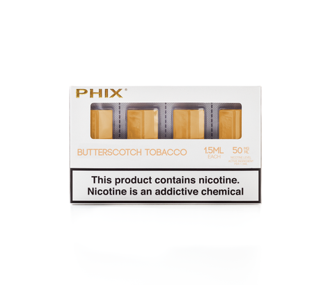 PHIX PODS BUTTERSCOTCH TOBACCO