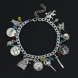 House Banners Charm Bracelet
