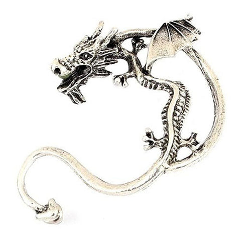 Dragon Ear Hook Wrap Earrings