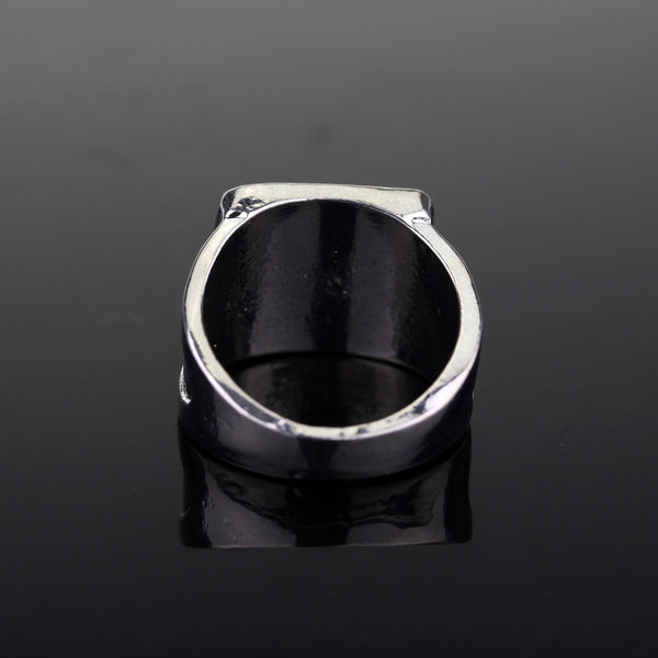 House Targaryen Seal Ring Black Enamel