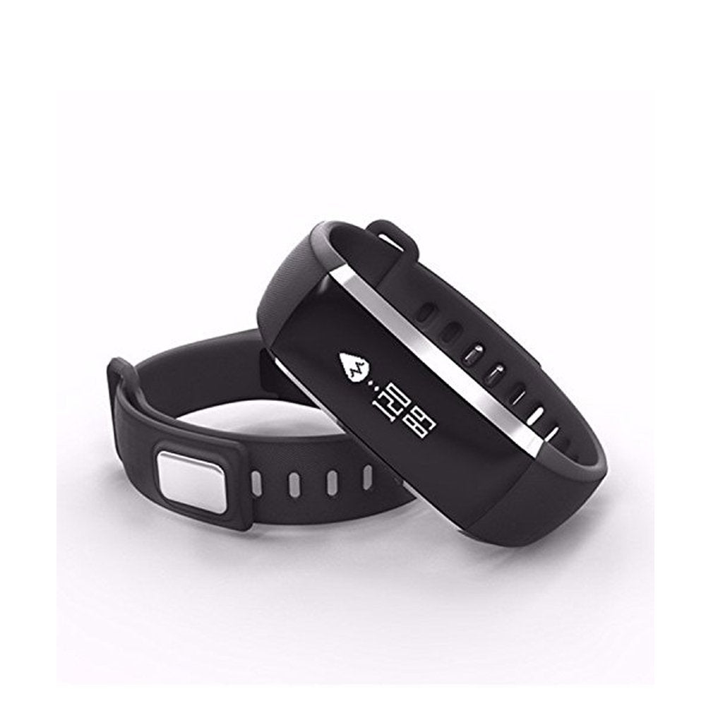 heart bluetooth blood bracelet sleep tracker distance fitness black counter pressure rate pedometer monitor cvaia catalogue