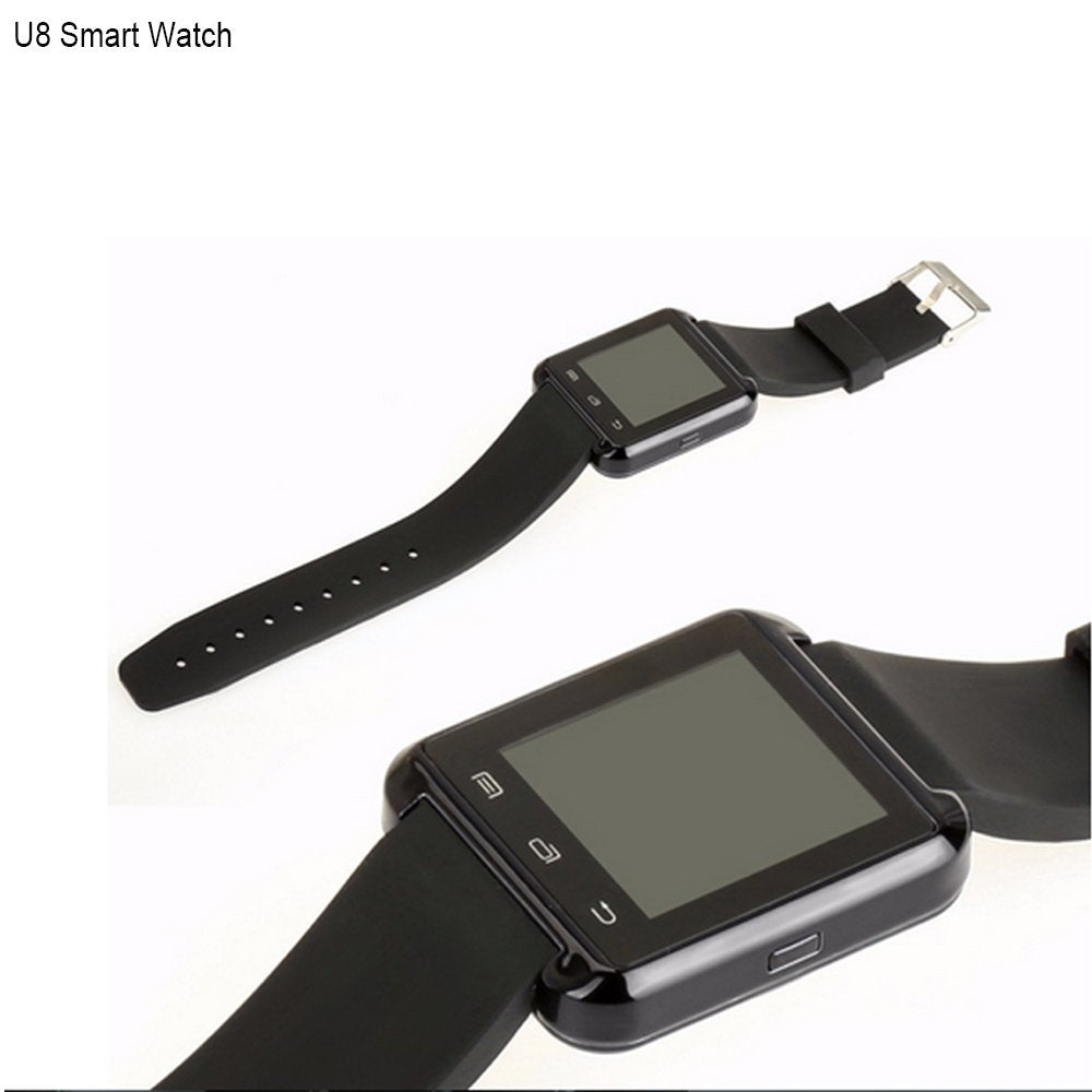 a86c4c0e3 U8 Bluetooth Smart Wrist Watch Phone Mate with Iphone Android Samsung HTC LG