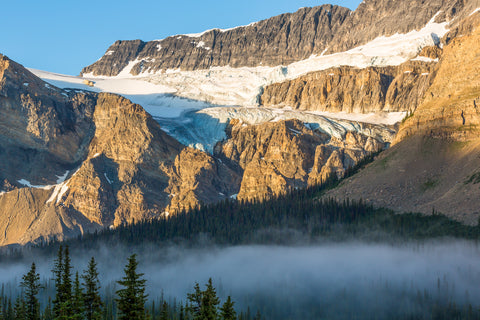 Canvas and art Prints | Crowfoot Glacier