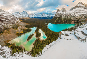 Canvas and art Prints | Lake O'Hara View
