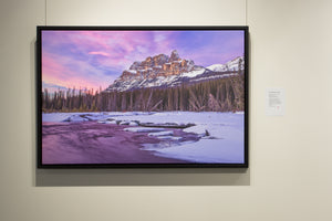 Framed Canvas Prints | Castle Mountain