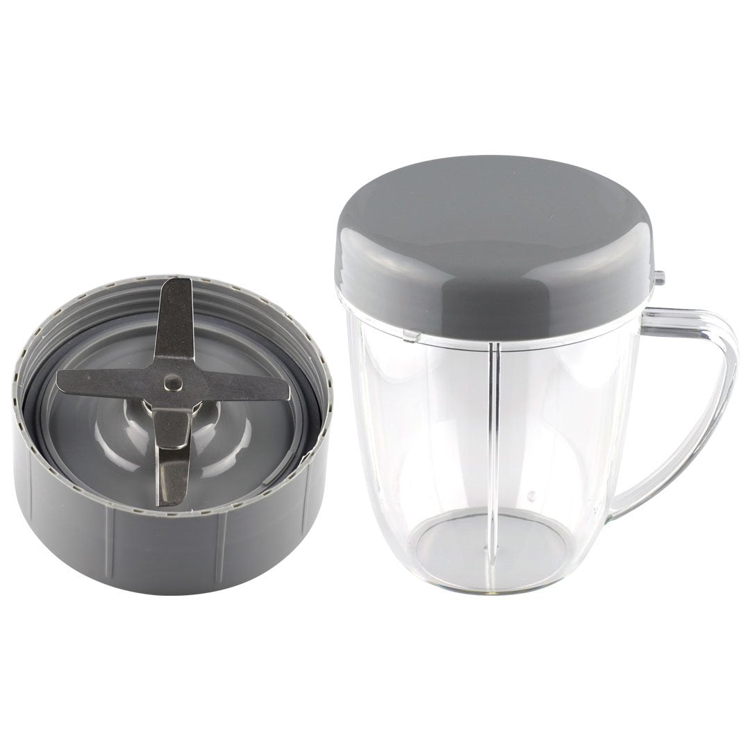 1 Extractor Blade + 1 18 oz Handled Short Cup w/ Stay Fresh Lid Nutribullet Combo NB-101