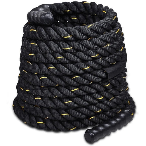 Felji 1.5 Inch 40 ft Poly Dacron Battle Rope Workout Strength Training