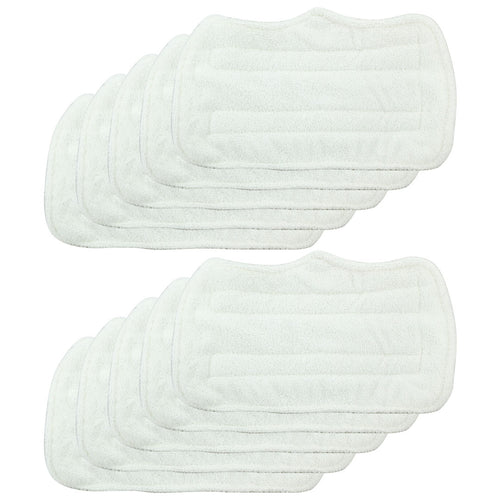 10 Pack Felji Replacement Microfiber Pads For Shark Steam Mop Euro Pro S3101 S3250, Part XT3101