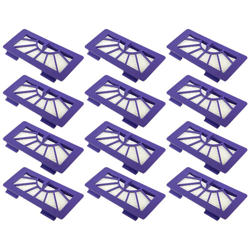 12 Pack Neato XV-21 Pet Allergy Blue Filter Replacement Part # 945-004 945-0048