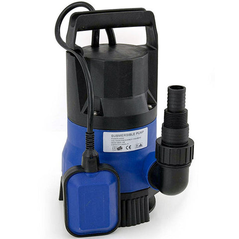 Felji 1/2 HP 2000GPH Submersible Dirty Clean Water Pump Flooding Pond Swimming Pool