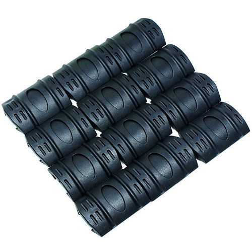 Felji 20mm Weaver Rail Rubber Covers Guard Rifle 12 & 24 Pieces