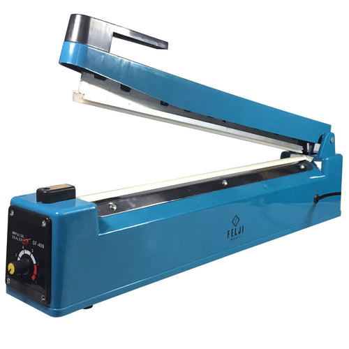 Felji 16 400mm Manual Impulse Heat Sealer Poly Bag Machine Shrink Wrap Free Element""