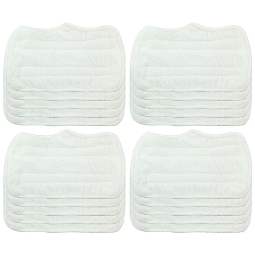 20 Pack Felji Replacement Microfiber Pads For Shark Steam Mop Euro Pro S3101 S3250, Part XT3101