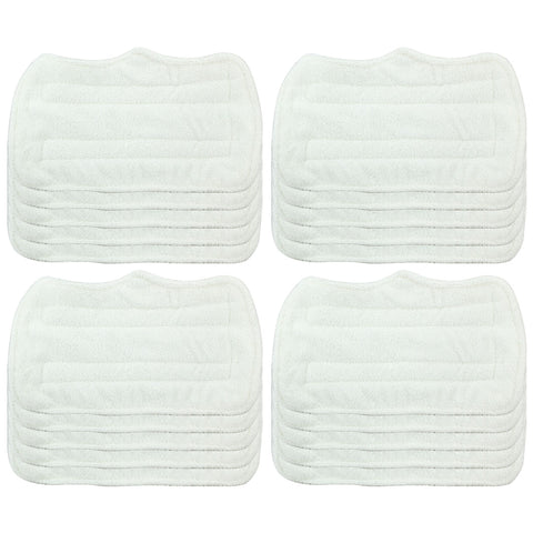 6 Pack Felji Replacement Microfiber Pads For Shark Steam Mop Euro Pro S3101 S3250, Part XT3101