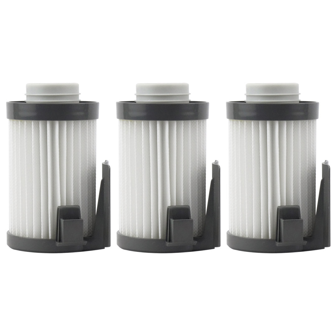3 Pack Felji Washable HEPA Dust Cup Vacuum Filters for Eureka DCF-10, DCF-14, Part # 62731, 62396