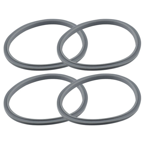 4 Gray Gasket Replacements for NutriBullet 600W 900W Extractor or Flat Milling Blades NB-101