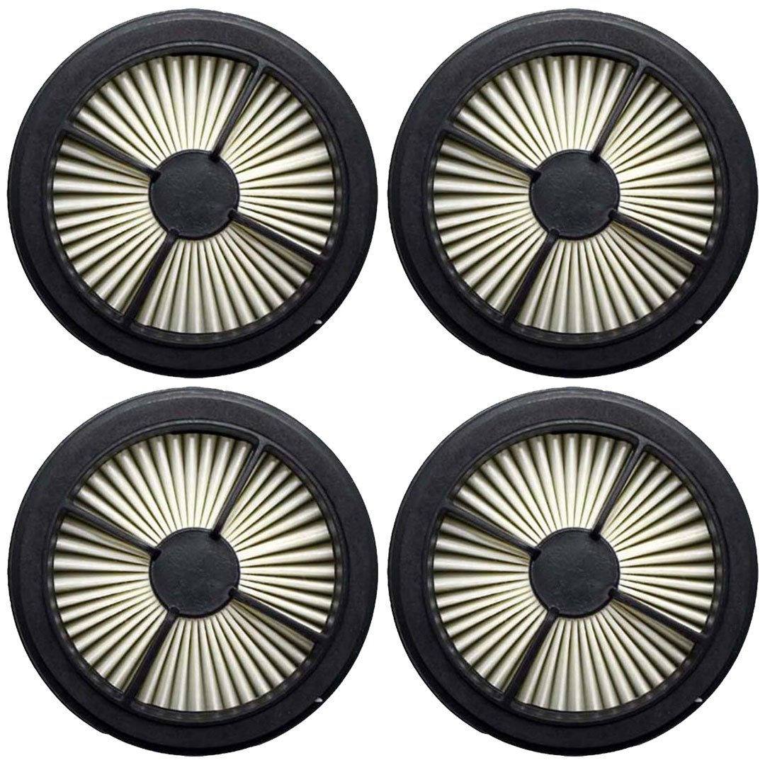 4 Pack Dirt Devil F44 Allergen Pre-Motor Filter Replacement Part # 304019001 3-04019-001 UD20015 UD20020 UD20025