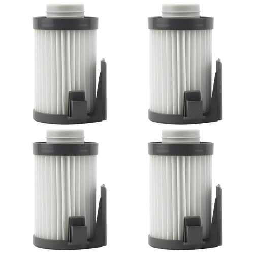4 Pack Felji Washable HEPA Dust Cup Vacuum Filters for Eureka DCF-10, DCF-14, Part # 62731, 62396