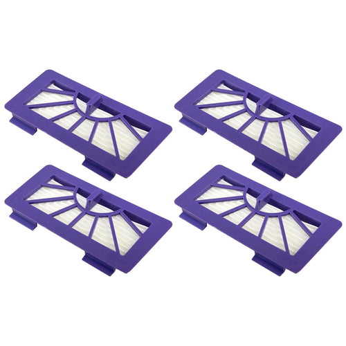 4 Pack Neato XV-21 Pet Allergy Blue Filter Replacement Part # 945-004 945-0048