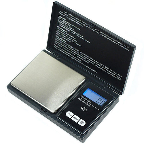500g x 0.1g Digital Pocket Scale Jewelry Gold Silver Coin Gram