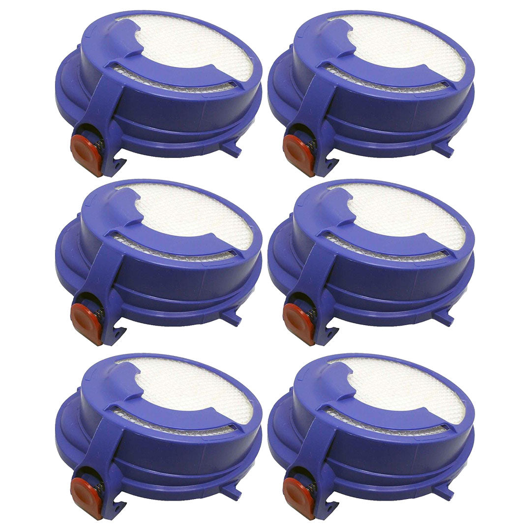 6 Pack Dyson DC24 Washable Post Motor HEPA Filter Part # 915928-01 91592801